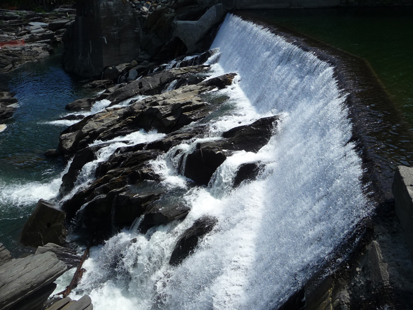 Quechee dam