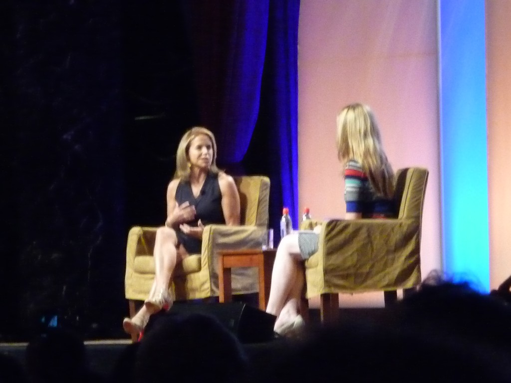 BlogHer12 speaker Katie Couric