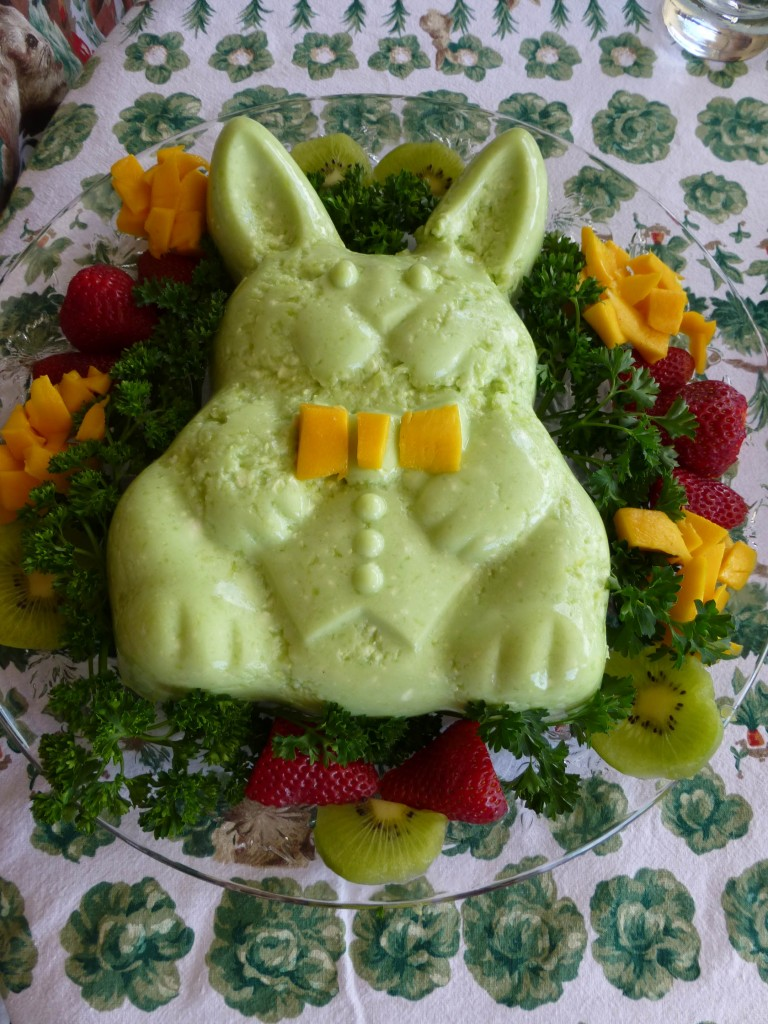 Easter Bunny Jello Salad ⋆ Mimi Avocado